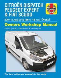 Citroen Dispatch, Peugeot Expert & FIAT Scudo Diesel (