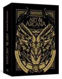 ART Dungeons & Dragons Art & Arcana [special Edition, Boxed Book & Ephemera Set]: A Visual History