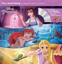 Disney Princess Read-Along Storybook and CD Boxed Set [With Audio CDs]