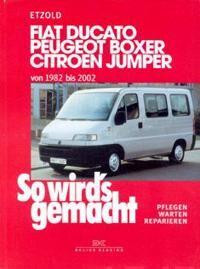 Fiat Ducato, Peugeot Boxe, Citroen Jumer