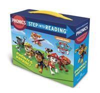 Paw Patrol Phonics Box Set (Paw Patrol): 12 Step Into Reading Books