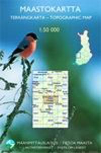 Maastokartta T524 1:50 000 Salla, 2013