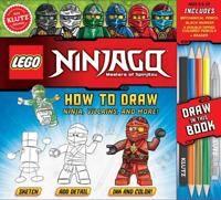 Lego NINJAGO: How to Draw Ninja, Villains and More