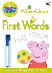 Peppa Pig: Practise with Peppa: Wipe-Clean First Words