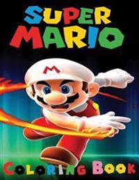 Super Mario Coloring Book: This A4 45 page Coloring Book for kid