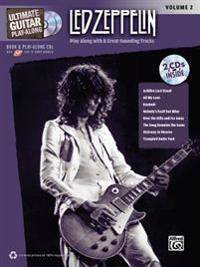 Ultimate Guitar Play-Along Led Zeppelin, Vol 2: Authentic Guitar Tab, Book & CD-ROM [With 2 CDs]