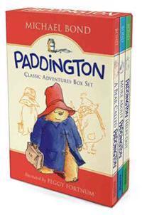 Paddington Classic Adventures Box Set: A Bear Called Paddington, More about Paddington, Paddington Helps Out