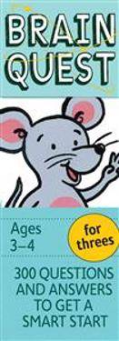 Image of Garmin Brain Quest for Threes, Revised 4th Edition: 300 Questions and Answers to Get a Smart Start