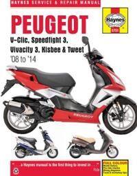 Peugeot V-Clic, Speedfight 3, Vivacity 3, KisbeeTweet (08 To 14)
