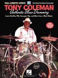 Coleman Tony Coleman Authentic Blues Drumming