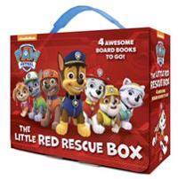 The Little Red Rescue Box (Paw Patrol): 4 Board Books