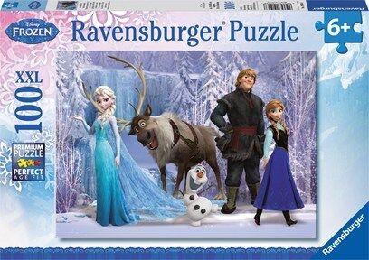 Frozen-palapeli, 100 palaa, Ravensburger