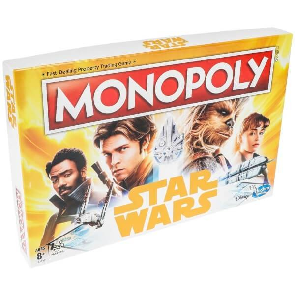 Hasbro Monopoly Han Solo ENG, Hasbro Gaming