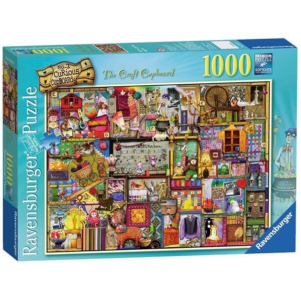 The Craft Cupboard, Pussel 1000 bitar, Ravensburger