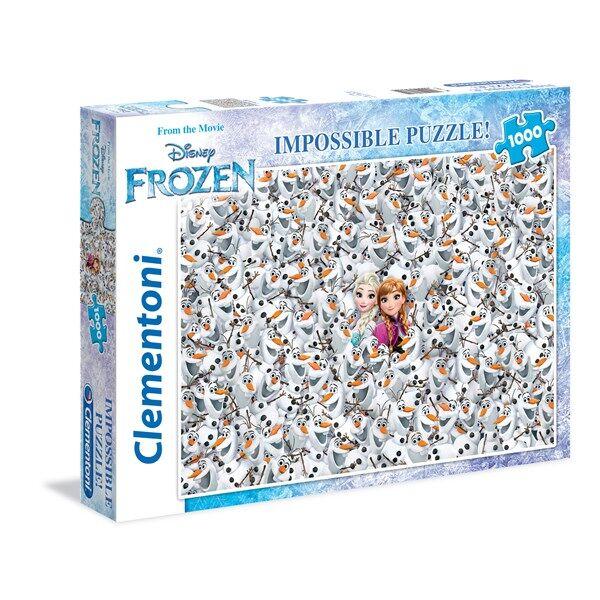 Pussel Impossible, Frozen 1000 bitar, Clementoni