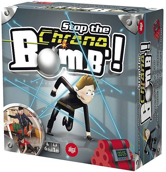 Alga Stop the Chrono Bomb, Alga (SE/FI/NO/DK/EN)