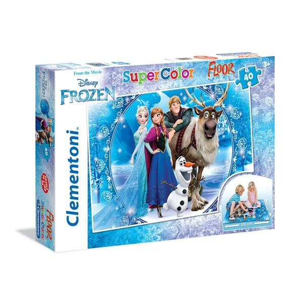 Disney Golvpussel Disney Frozen, 40 bitar, Clementoni