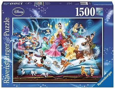 Disney s Magical Storybook, Pussel 1500 bitar, Ravensburger
