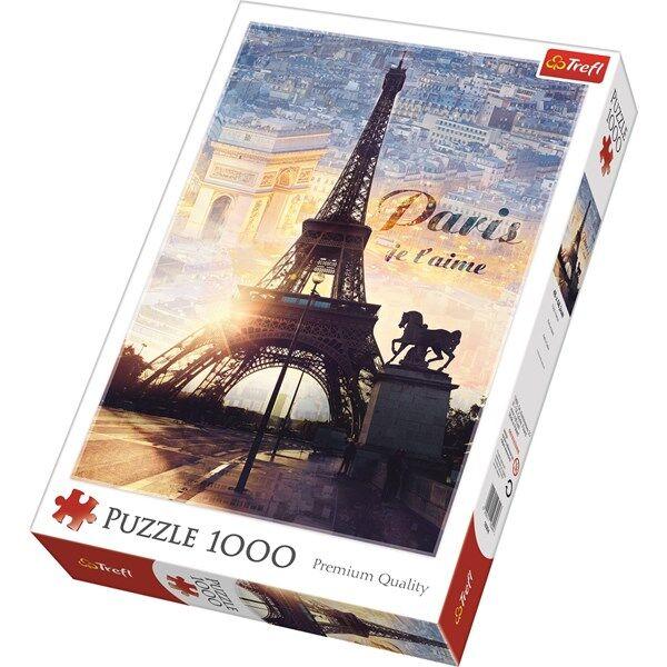 Paris, Pussel 1000 Bitar, Trefl