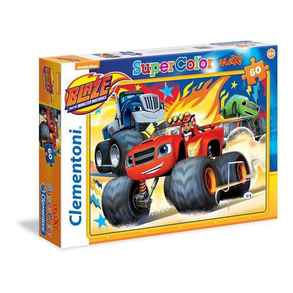 Pussel Maxi Blaze, 60 bitar, Clementoni