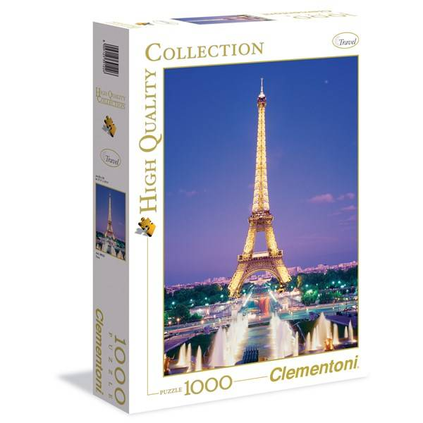 Pussel HQC Paris, 1000 bitar, Clementoni