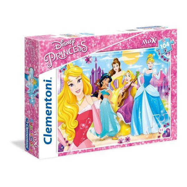 Disney Pussel Maxi Disney Princess, 104 bitar, Clementoni
