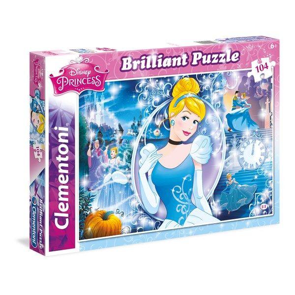Disney Pussel Disney Cinderella, 104 bitar, Clementoni