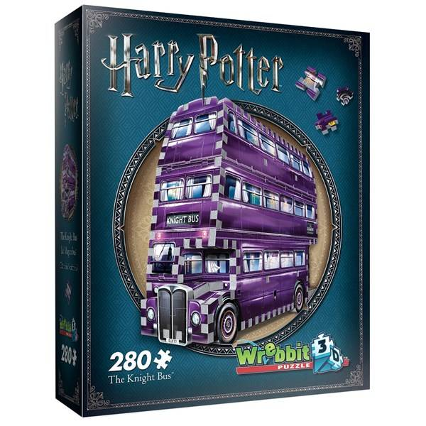 3D Pussel, Knight Buss, Harry Potter
