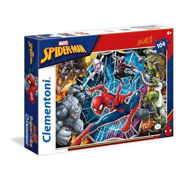 Pussel Maxi Spiderman, 104 bitar, Clementoni