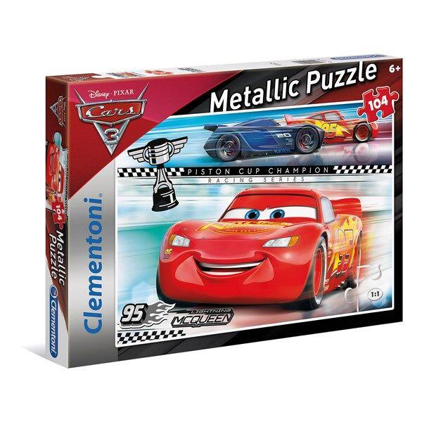 Pussel Metallic Cars 3, 104 bitar, Clementoni