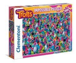 Trolls Impossible Puzzle, 1000 bitar
