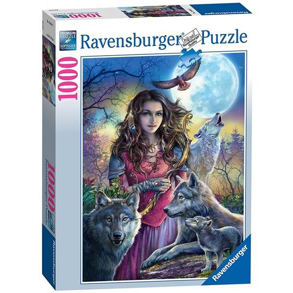 Protector of Wolves, Pussel 1000 bitar, Ravensburger