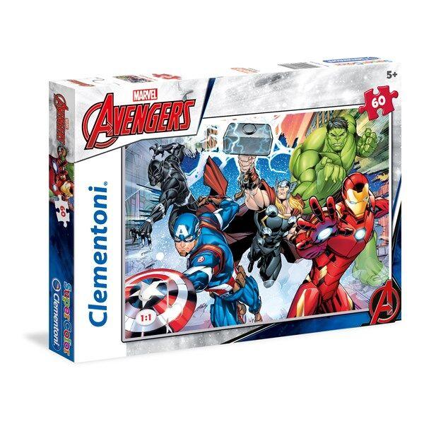 Pussel Avengers, 60 bitar, Clementoni