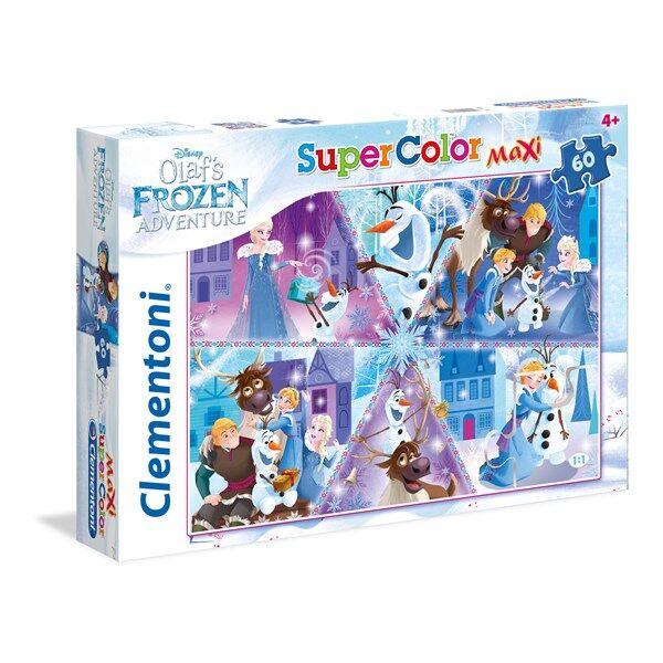 Pussel Maxi Frozen Olaf, 60 bitar, Clementoni