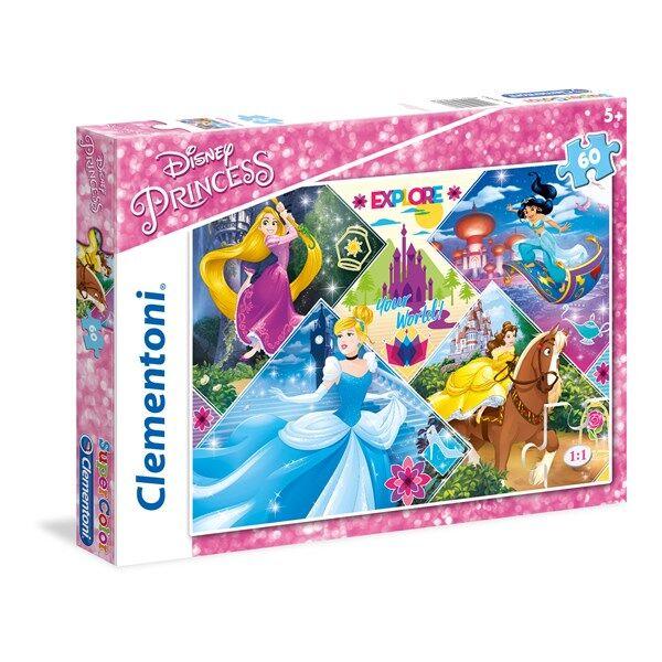 Disney Pussel Disney Princess, 60 bitar, Clementoni