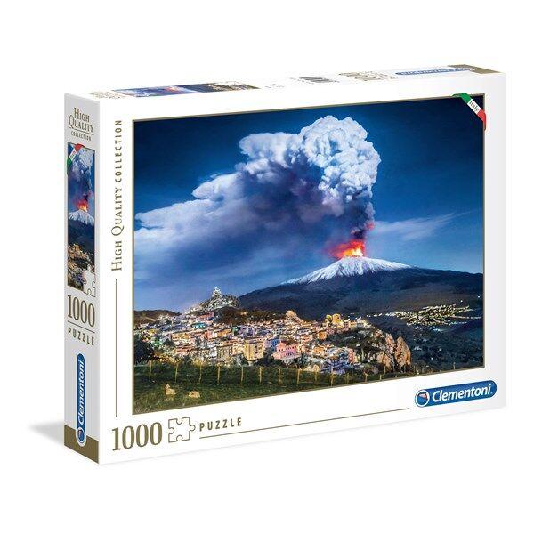 Pussel HQC Etna, 1000 bitar, Clementoni