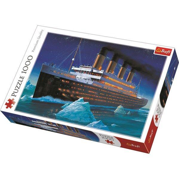 Titanic, Pussel, 1000 Bitar, Trefl