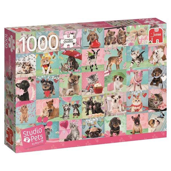Studio Pets, Lovely day, Pussel 1000 bitar, Jumbo