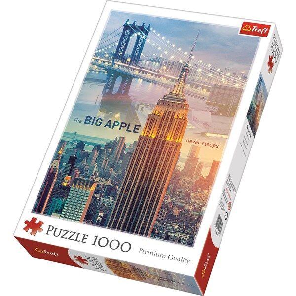 New York, Pussel, 1000 bitar, Trefl