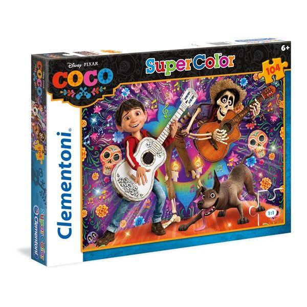 Pussel SuperColor Coco, 104 bitar, Clementoni