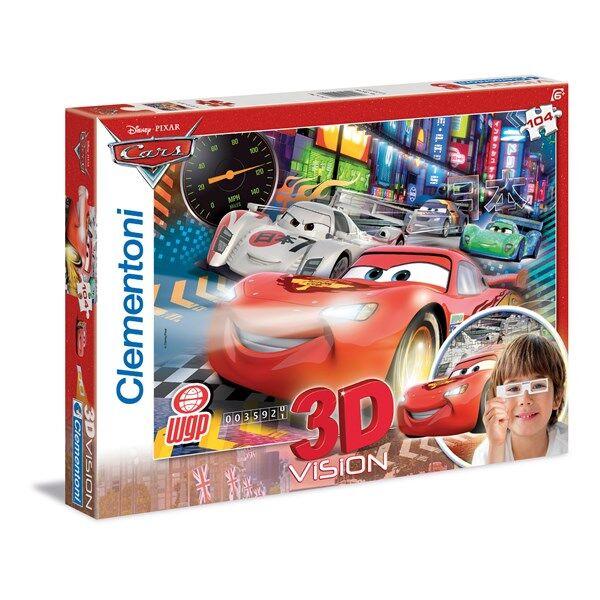 Disney 3D-Pussel Disney Cars 2,104 bitar, Clementoni
