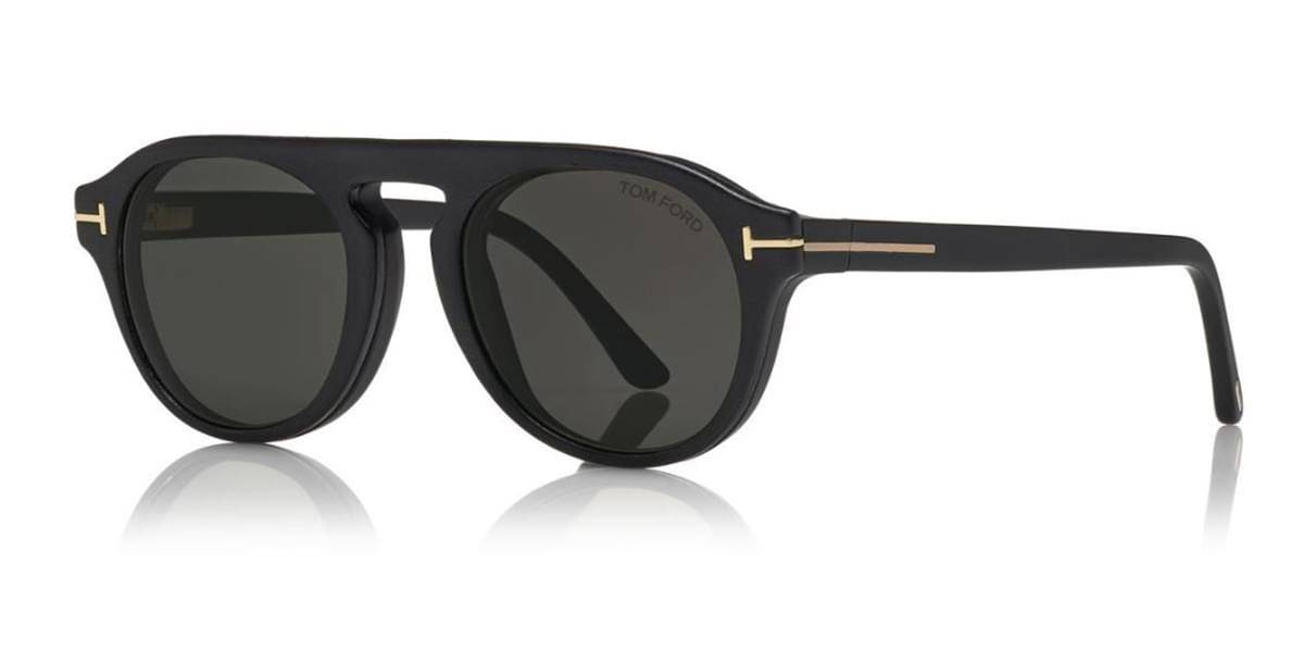 Image of Tom Ford Aurinkolasit FT5533-B With Clip On 02A