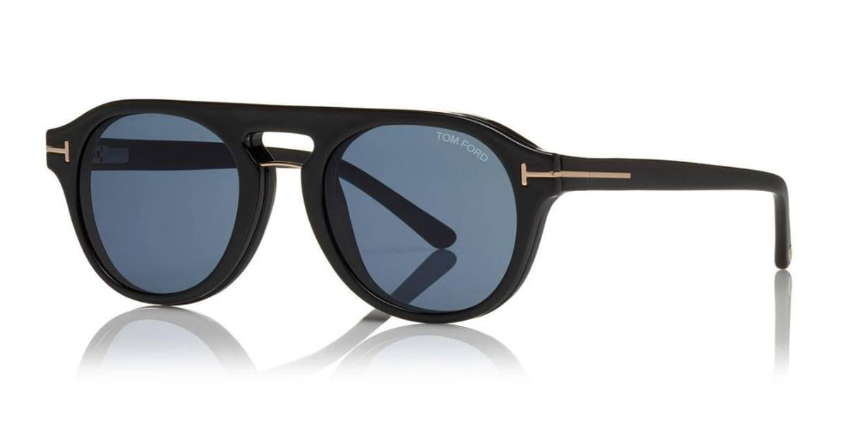 Image of Tom Ford Aurinkolasit FT5533-B With Clip On 01V