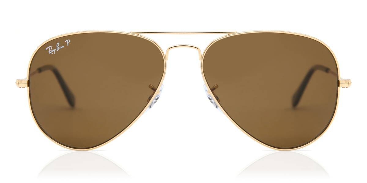 Image of Ray-Ban Aurinkolasit RB3025 Aviator Large Metal Polarized 001/57