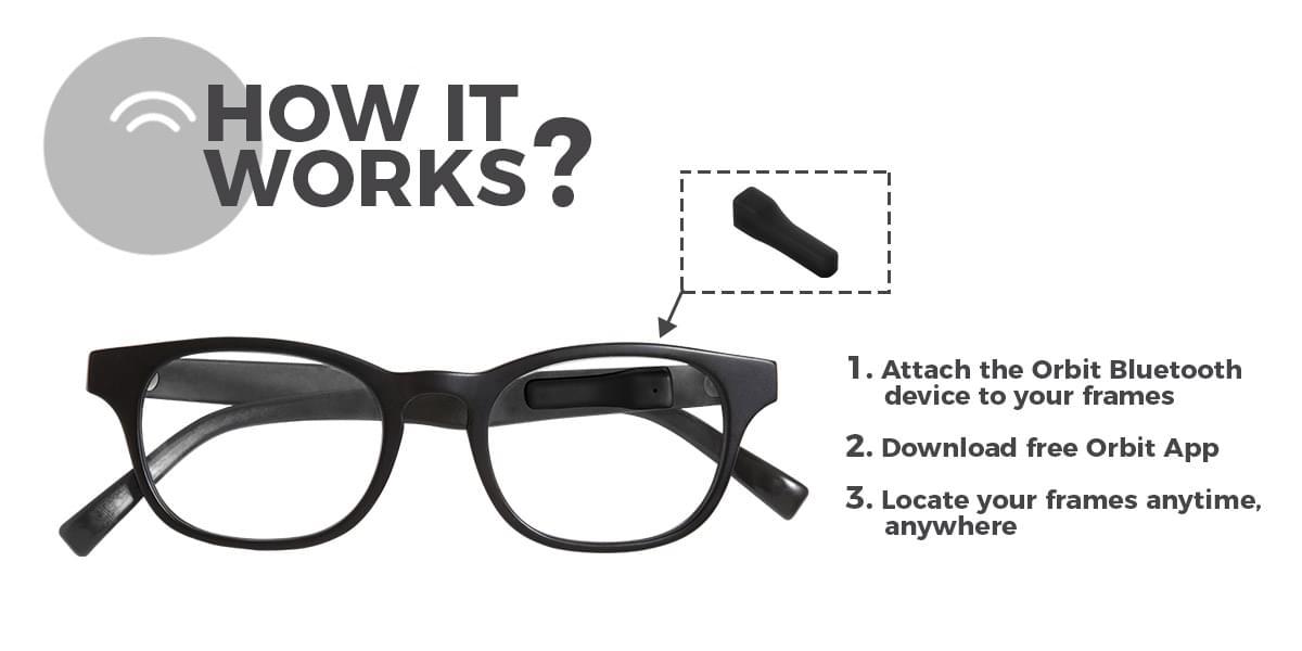 Image of ORBIT Aurinkolasit Sunglasses Bluetooth Tracker 001