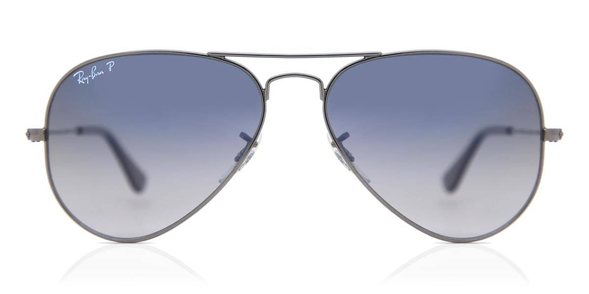 Image of Ray-Ban Aurinkolasit RB3025 Aviator Gradient Polarized 004/78