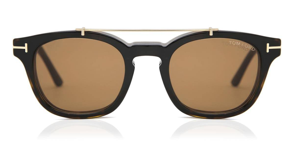 Image of Tom Ford Aurinkolasit FT5532-B/V With Clip On 52E