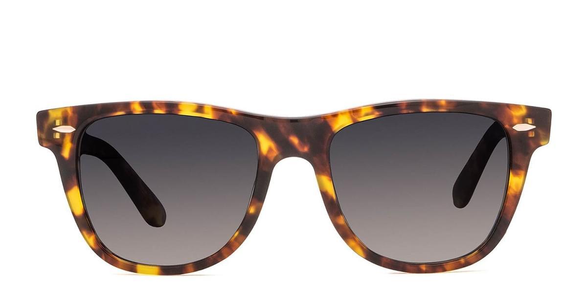 DIFF Aurinkolasit Kota Polarized amber tortoise+steel gradient polarized lens