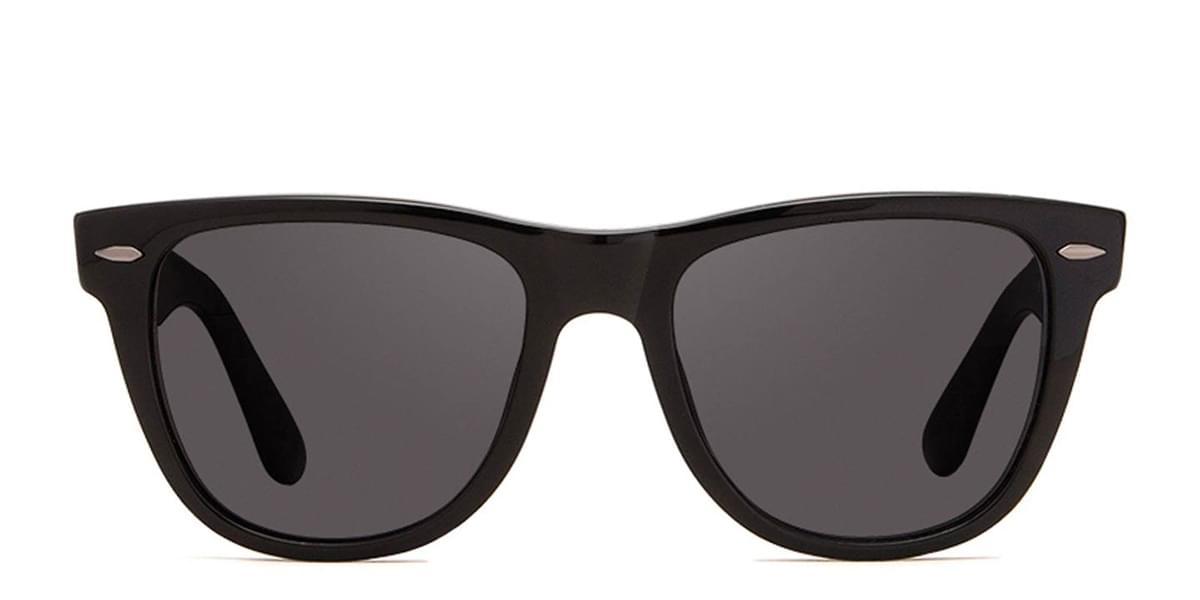 DIFF Aurinkolasit Kota Polarized black+dark smoke polarized lens