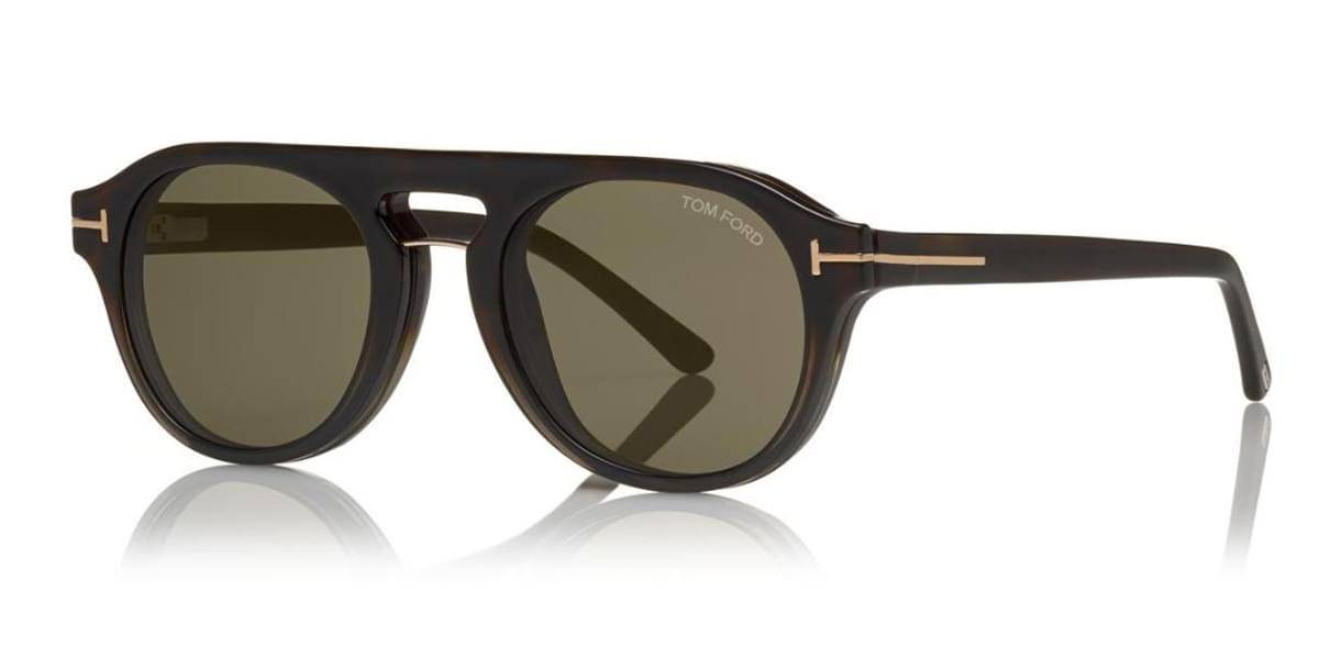Image of Tom Ford Aurinkolasit FT5533-B With Clip On 55A